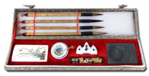 Chinese Calligraphy writing set oblong (E178 / F178)